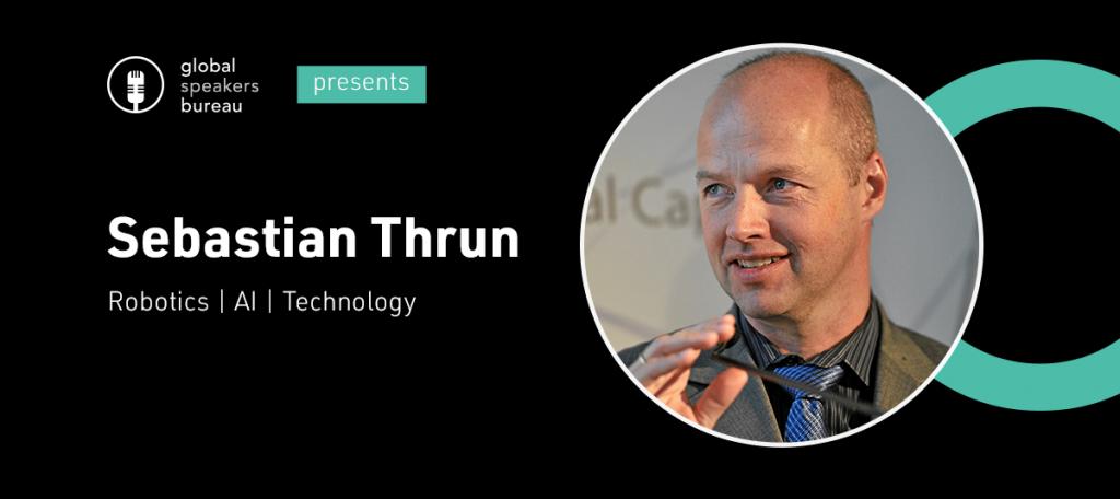Sebastian Thrun keynote speaker