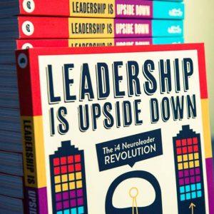 leadership is upside down book cover