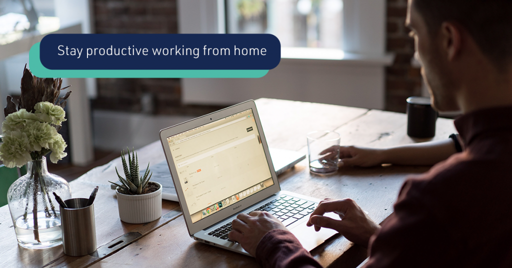 How to stay productive working remotely?